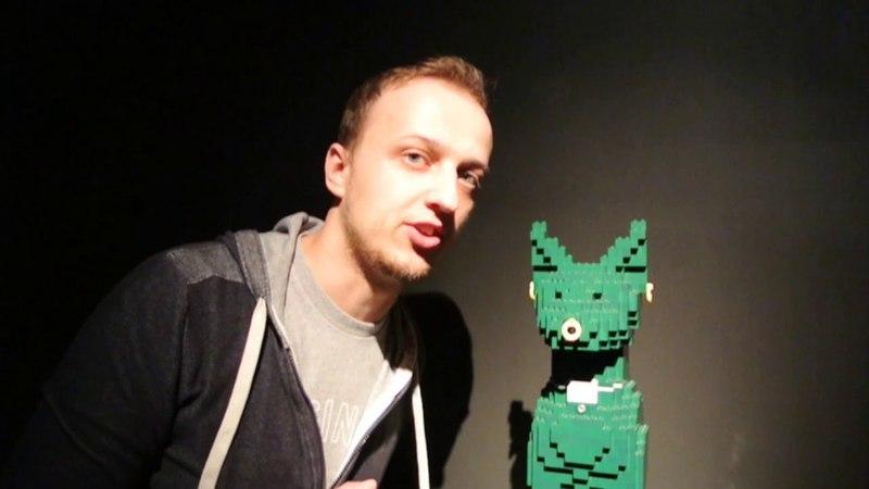 Натан Савайя: Искусство Лего (выставка лего в Москве) - Nathan Sawaya: The Art of the Brick