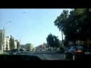 Дрифт Camaro в центре Липецка взгляд изнутри