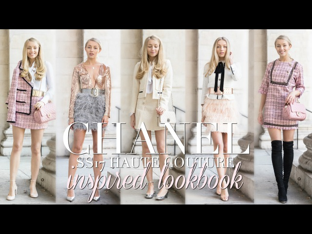 CHANEL HAUTE COUTURE INSPIRED LOOKBOOK | Freddy My Love