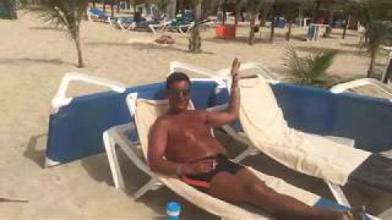 The big BOSS on the beach at RIUs resort Cape Verde