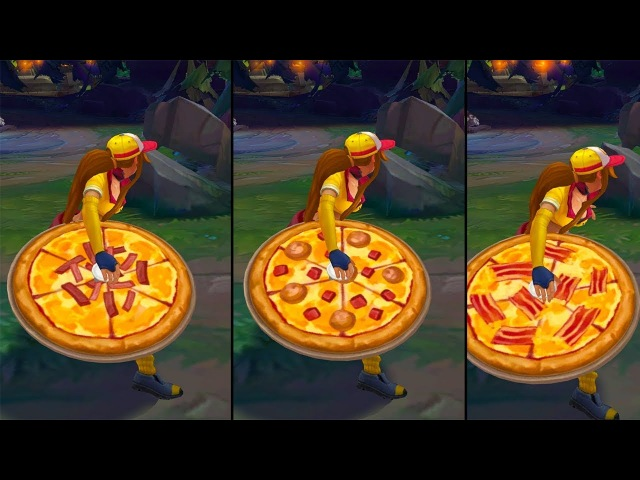 Pizza Delivery Sivir Chroma | Pizza Visual Update - League of Legends