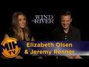 Elizabeth Olsen & Jeremy Renner Wind River Interview