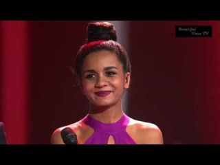 'It's a Man's World'. Aminata&Charley. The Voice Russia 2016.