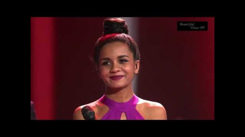 'It's a Man's World'. AminataCharley. The Voice Russia 2016.