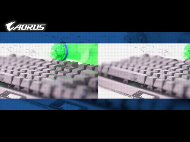 [Product] Fully Splash Proof AORUS K9 Optical Keyboard