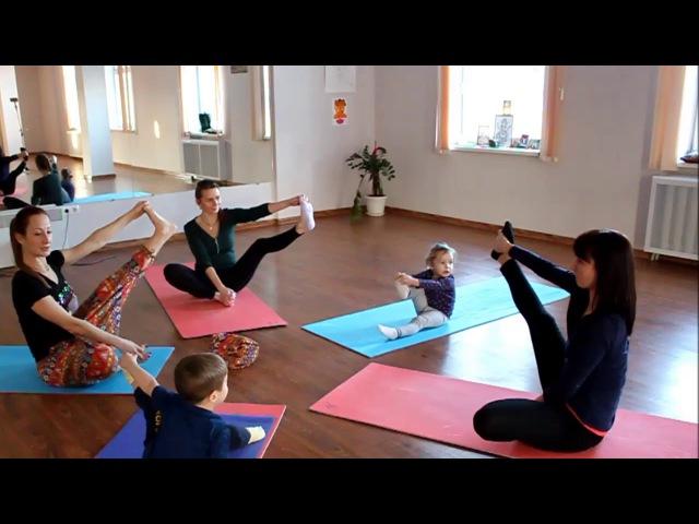 ЙогаДар Анна Гулевич Йогатерапия Детская йога