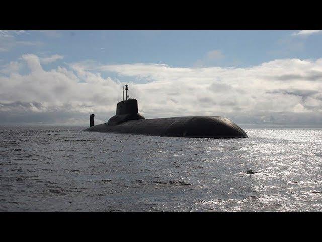 Атомный «Дмитрий Донской»: самая большая подлодка в мире за 60 секунд