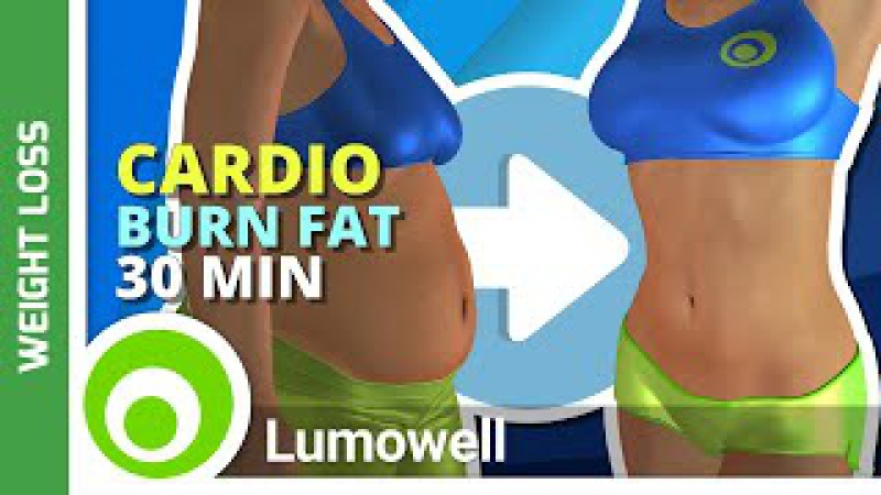 Fat Burning Cardio Workout Exercise to Lose Weight Fast at Home