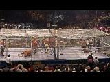 Sting, Brian Pillman &amp Steiner Brothers vs. The Four Horsemen - WarGames Match WCW WrestleWar 1991