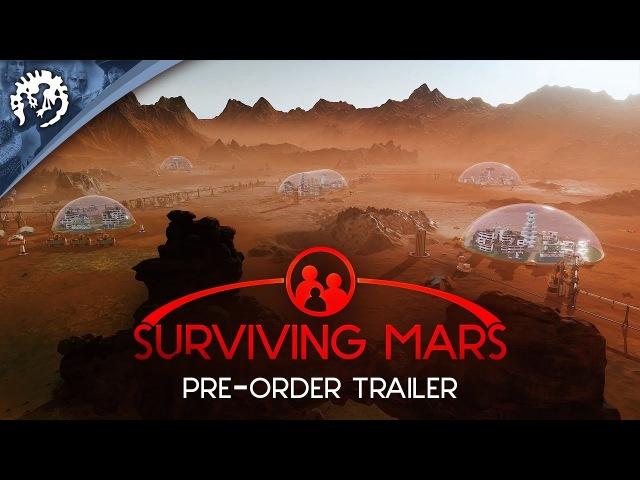 Surviving Mars - Pre-Order Trailer