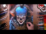 Drawing Pennywise the Dancing Clown drawholic