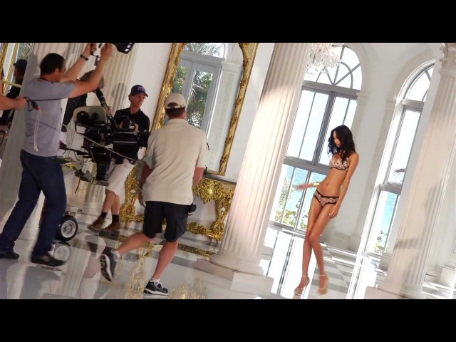 Behind the Scenes of the VS Knockout Push-Up TV Commercial