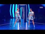 Танцы: Юля Косьмина и Юля Гаффарова (Иван Дорн - Бигуди) (сезон 4, серия 19) из сериал...