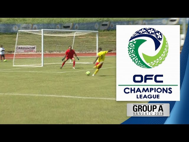OFC CHAMPIONS LEAGUE 2018 | Group A - Tupapa Maraerenga v Lae City Dwellers Highlights