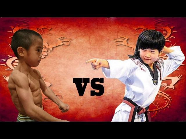 Ryusei imai vs Lin Qiunan : Kung Fu Boys