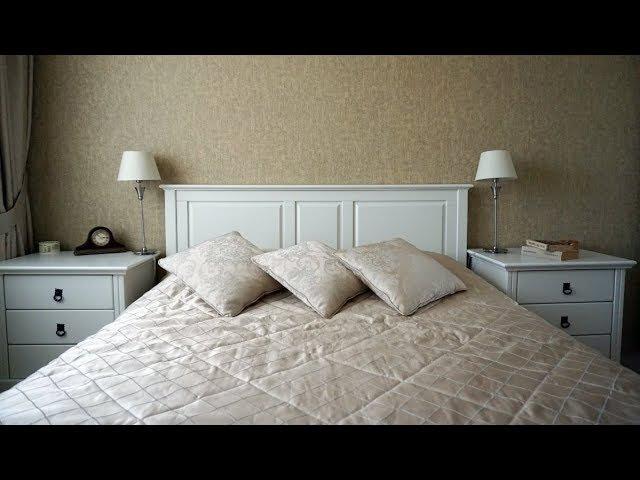 Спальня 12 кв. метров спокойный и гармоничный интерьер