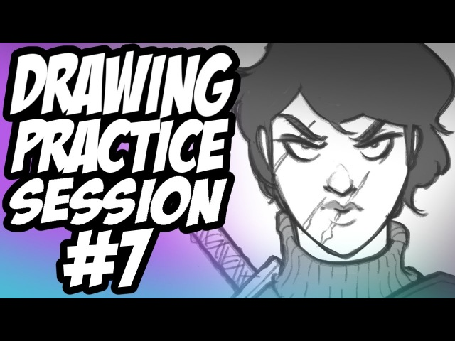Drawing Practice Session 7 - Faces / Online Art Crowds Talk