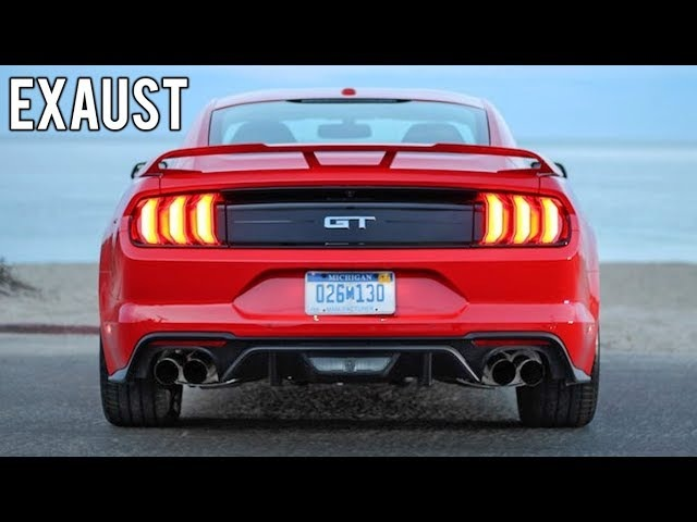 2018 Ford Mustang GT Exhaust Sound - Start Up, Revs Acceleration