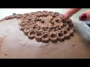 POTTERY BY BARBARA SYLVANE PRESENTS THE MAKING OF MY SIGNATURE PIECE OF POTTERY