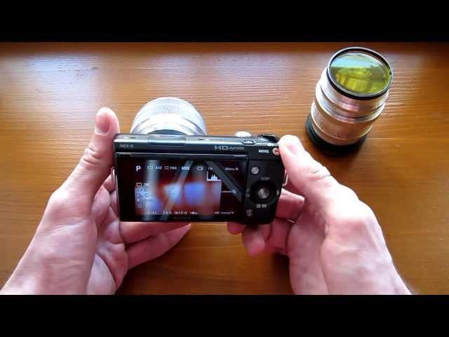 Sony NEX 5 и Юпитер 9 японская беззеркалка и советский объектив 50 ых