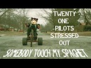 SOMEBODY TOUCHA MY SPAGHET - STRESSED OUT