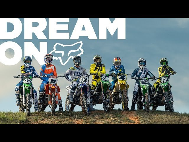 FOX MX 18 | DREAM ON | RICKY CARMICHAEL, RYAN DUNGEY, CHAD REED, AUSTIN FORKNER