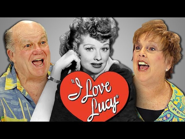 ELDERS REACT TO I LOVE LUCY