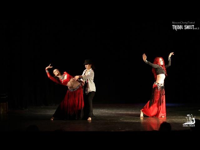 Трайбл-танго Terarium Tribe @ TRIBAL SWEET vol.3 Moscow, Russia