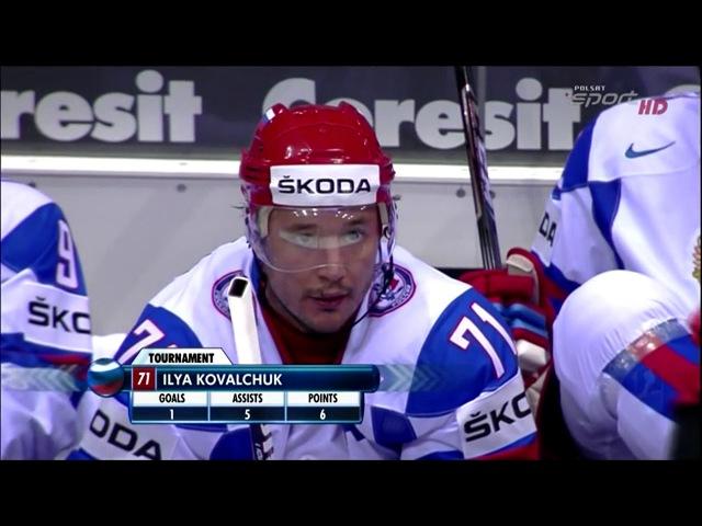 ЧМ по хоккею 2011 - Россия - Чехия матч за 3 место