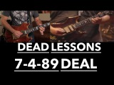 Grateful Dead Guitar Lesson - Deal Harmonic Analysis &amp Jerry Garcia Solos with Tab (7489 Buffalo)