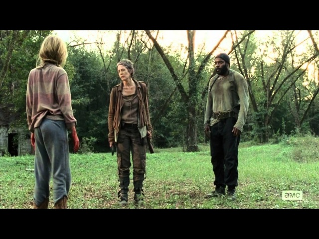 Walking dead - Lizzie and Mika's Death [HD]