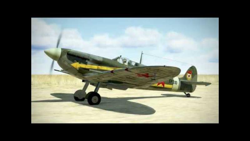 IL-2 Sturmovik: Supermarine Spitfire Mk.Vb - introducion