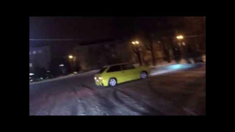 Краматорск. Зима. Арабы