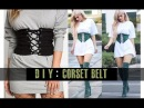 DIY Corset Belt easy