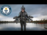 Real life Iron Man sets new record - Guinness World Records Day