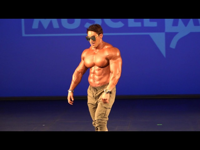 Musclemania Asia 2017 - Hwang Chul Soon (Guest Poser)*