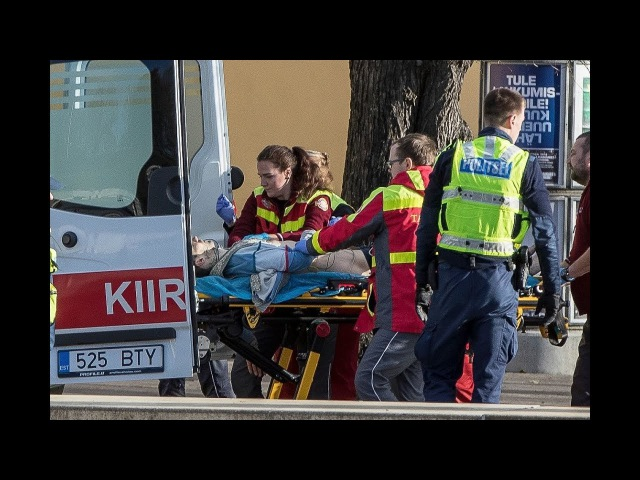 Полицейские застрелили размахивавшего ножами мужчину Tallinn 31.10.2017