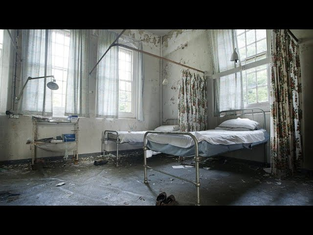 Abandoned Hospital for children with down East-Germany