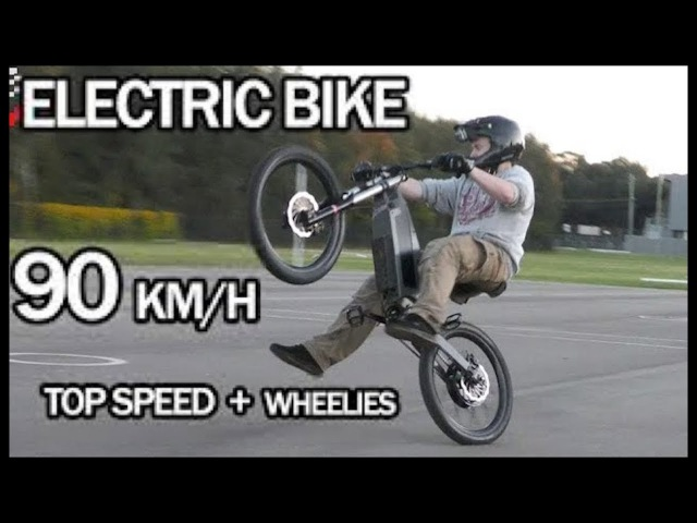 Electric Bike 90km/h Top Speed Wheelies | Stealth Electric Bikes