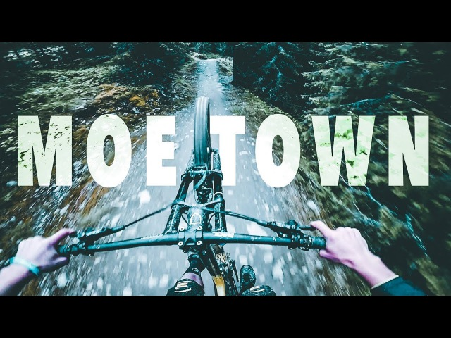 Smooth Downhill Trail - Moe Town TOP TO BOTTOM Run | Luis Gerstner