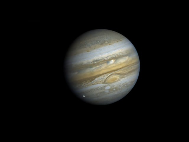 10 Jovian Days The Voyager 1 Jupiter Rotation Movie
