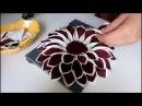 تعلمي كيف تصنعي وسادة على شكل وردة بالتفصي