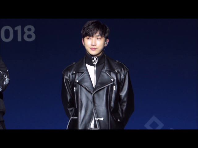 [180215] B1A4 평창 헤드라이너쇼 4 - 멘트 Rollin' 롤린 (진영 focus)