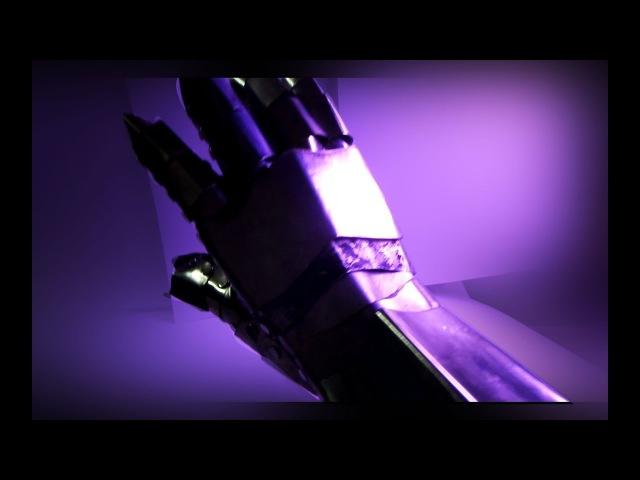 Латная перчатка своими руками