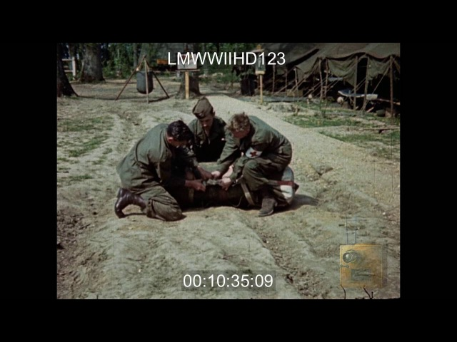 Rushes Wyler - US 82nd Airborne practice jump and preparation No Date
