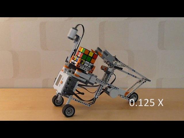 Tilted Twister 2.0 - LEGO Mindstorms Rubik's Cube solver
