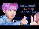 ХИЩНЫЙ ЗАЙЧИК ПАК ЧАНЁЛЬ CHANYEOL EXO K POP ARI RANG