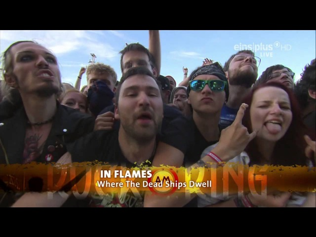 In Flames The Dead Ships Dwell Live @ Rock Am Ring 2015 HD AC3