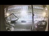 Ночная авария на Проспекте Мира в Москве