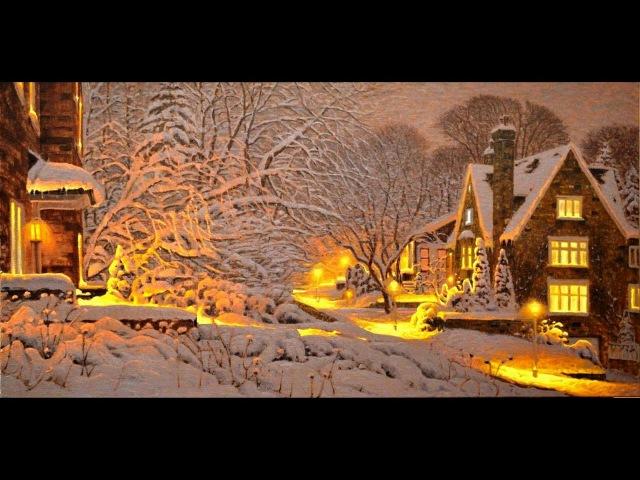 Зимняя соната...Волшебная пастель Ричарда Савойя